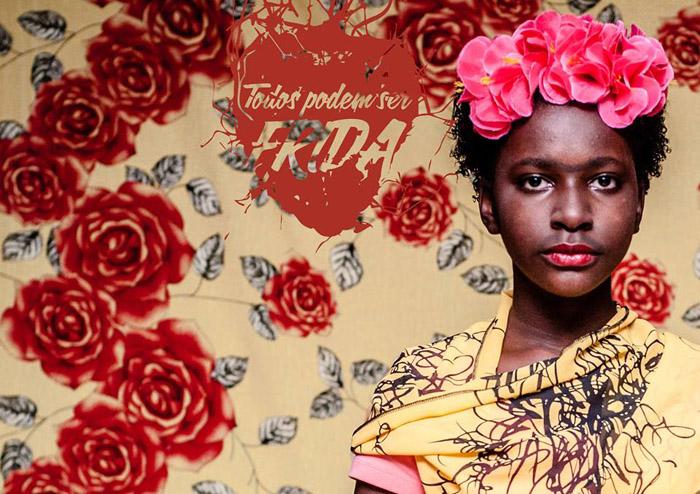 Проект девушки-фотографа из Бразилии *Todos Podem Ser Frida*.