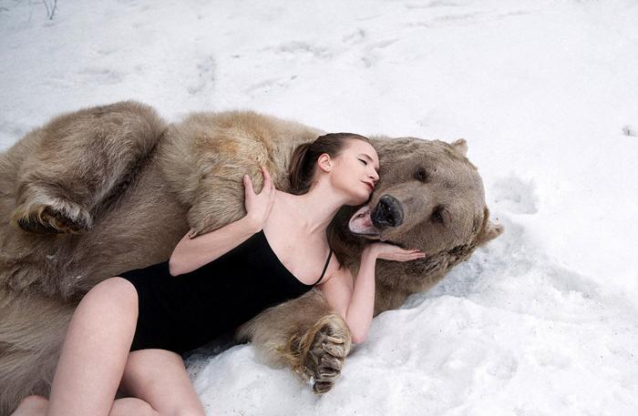 Провокационная фотосессия Ольги Баранцевой.