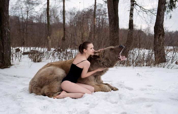 В снегах. Фото: Ольга Баранцева.