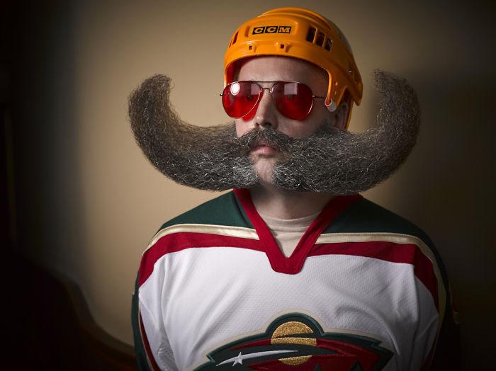Борода и усы. Фото: Greg Anderson.