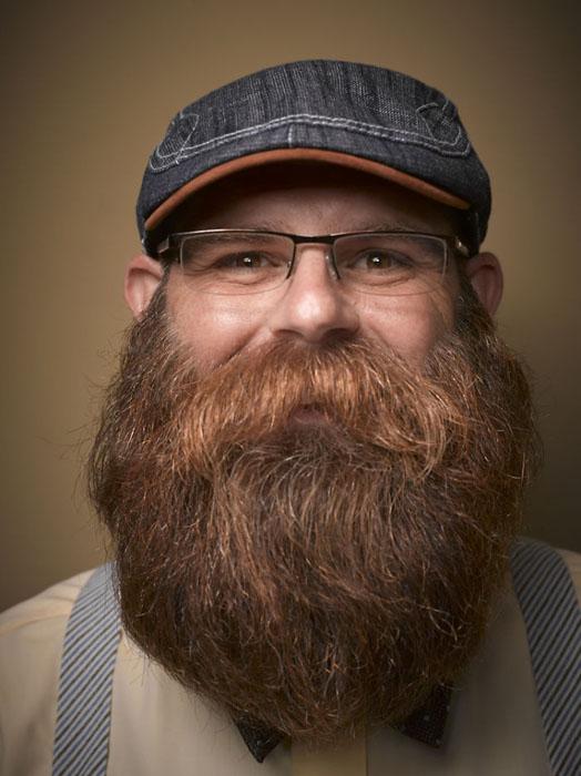 С бородой теплее. Фото: Greg Anderson.