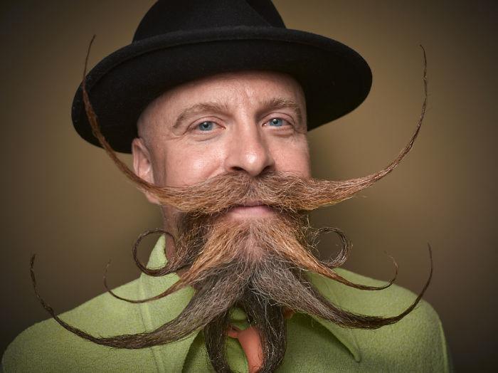 Многослойная борода. Фото: Greg Anderson.