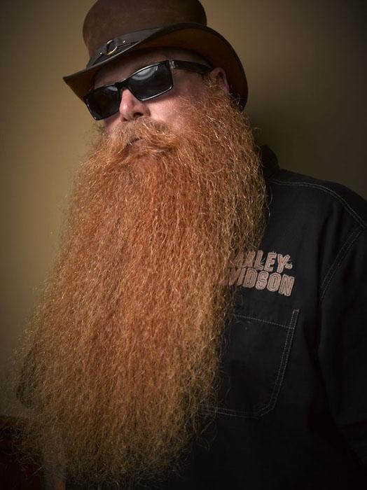 Внушительная борода. Фото: Greg Anderson.