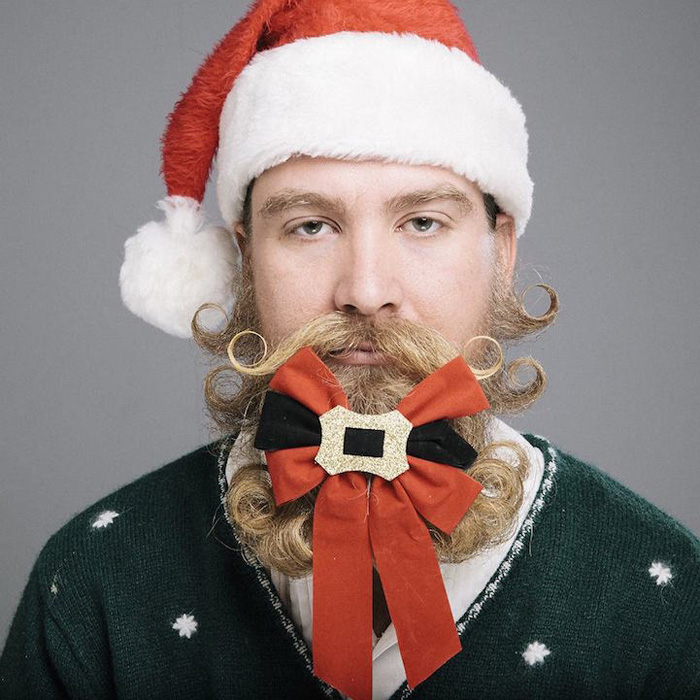 Тhe 12 Beards of Christmas: фотосерия Стефани Джарстад.