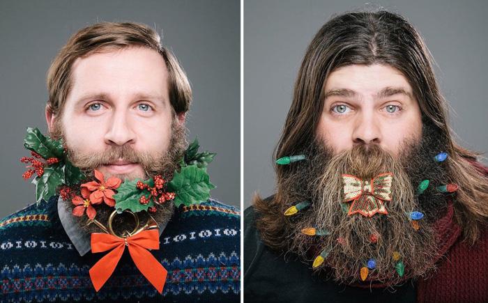 Тhe 12 Beards of Christmas: рождественский фотопроект.
