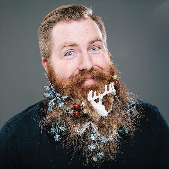 Рождественский календарь Тhe 12 Beards of Christmas.