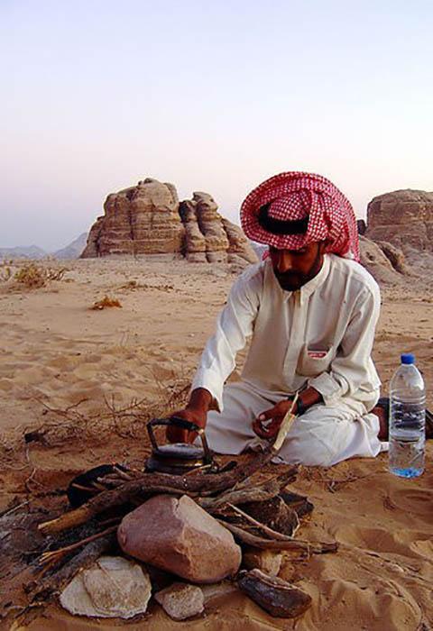 Молодой бедуин из Иордании.