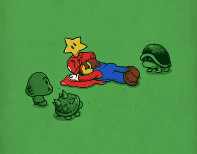 Марио дошел до финала.