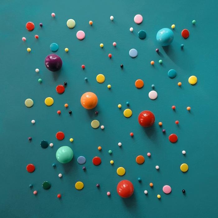 Игра со цветом от итальянского художника.