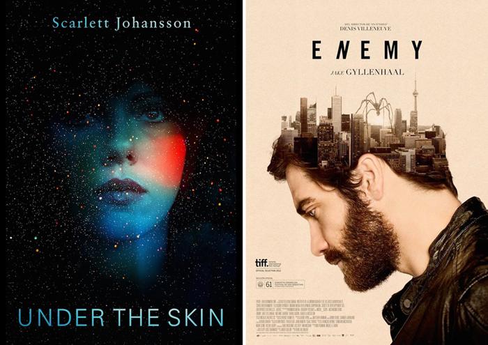Лучшие постеры фильмов 2014 года.