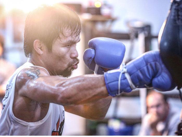 Мэнни Пакьяо, филиппинский боксер.