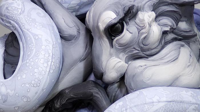 Закрученные скульптуры Бет Кавенер.