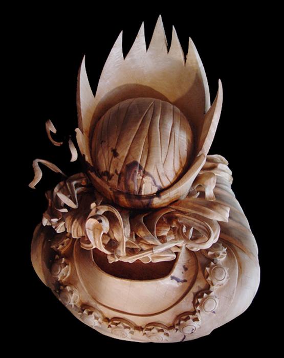 Король. Скульптор: Stefanie Rocknak.
