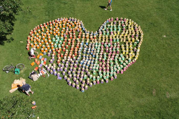 600 своречников было создано для фестиваля в Роскильде.