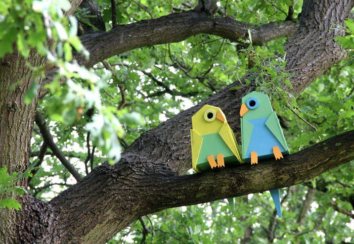 Скворечники для мелких птиц.
