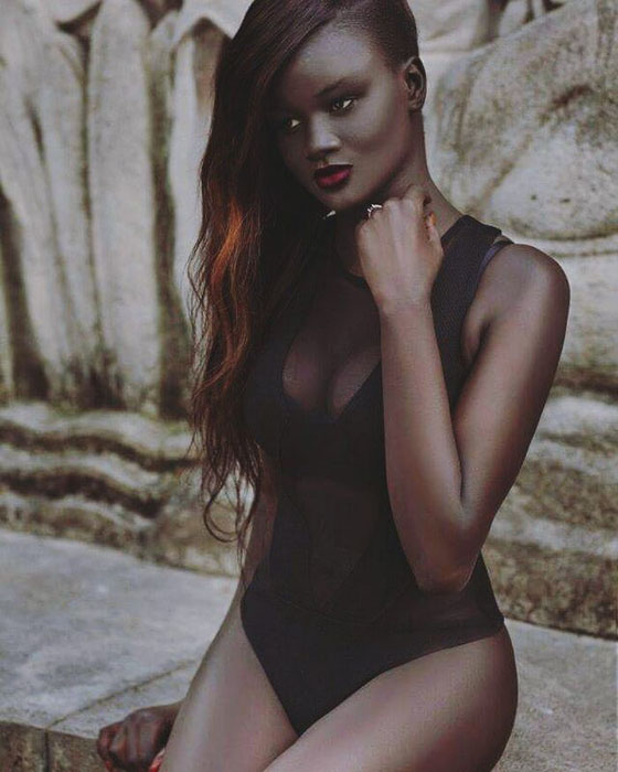 Богиня меланина. Фото:  The Colored Girl.