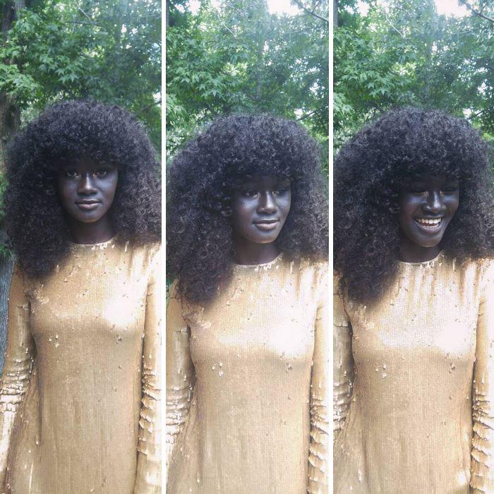 19-летняя модель из Сенегала.