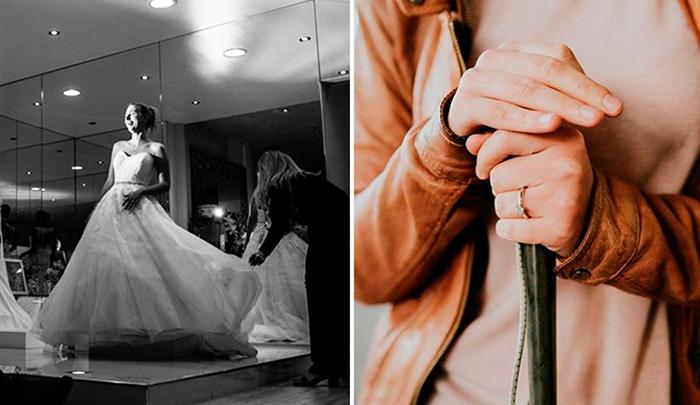 Подготовка к свадьбе Стефани и Роба.