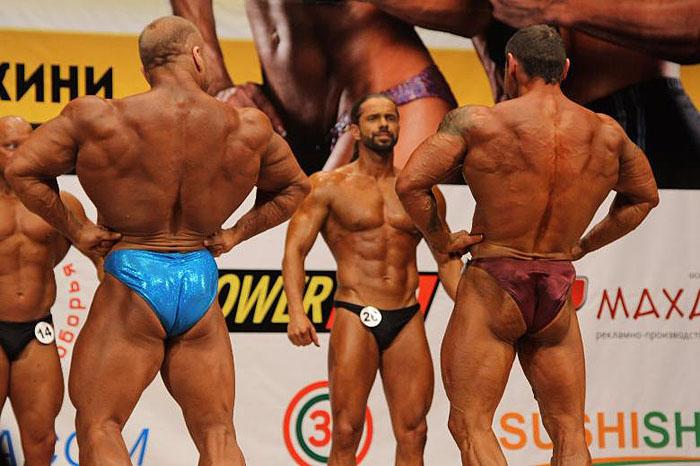 На соревнованиях отец Максим занял почетное третье место.