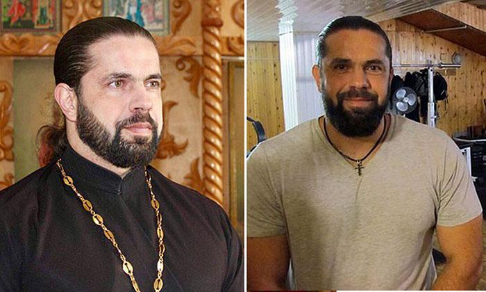 Священник и бодибилдер в одном лице.
