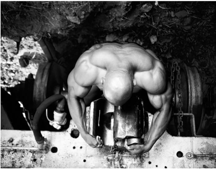 Фотографии из серии Искусство Бодибилдинга. Автор: Девид Пол.