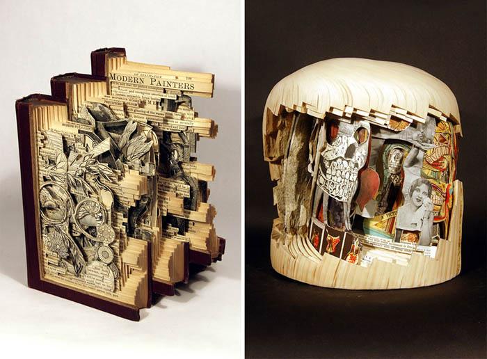 Работы Деттмера иногда состоят из нескольких книг, образуя единую картину.