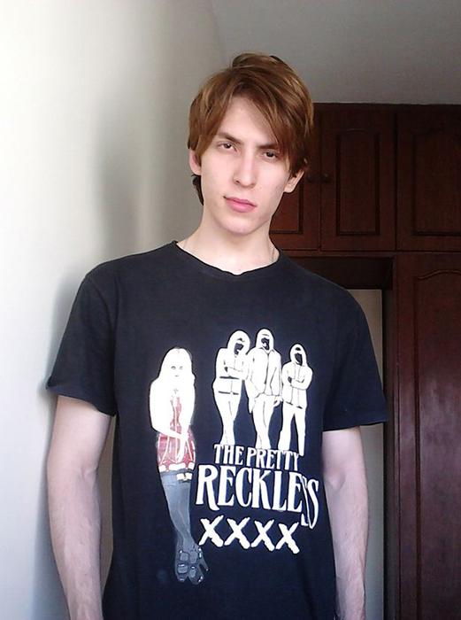 Криштиану Брага в 2012 году, когда он решил отращивать волосы.