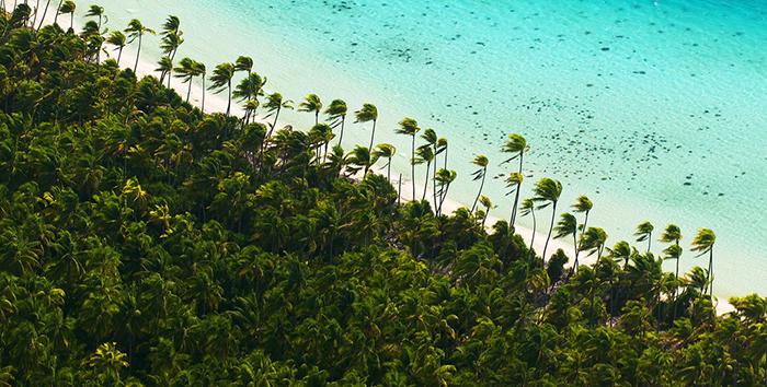 На острове сохранилась невероятно красивая природа.