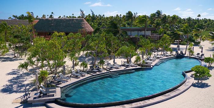 Сейчас на острове находится один из лучших эко-отелей в мире.