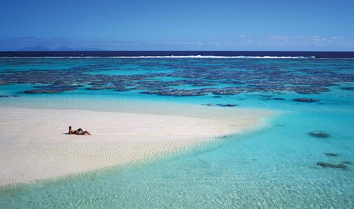 Остров во Французской Полинезии.