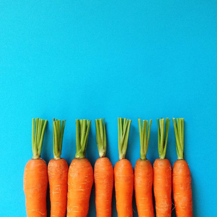 Симметричная морковка.