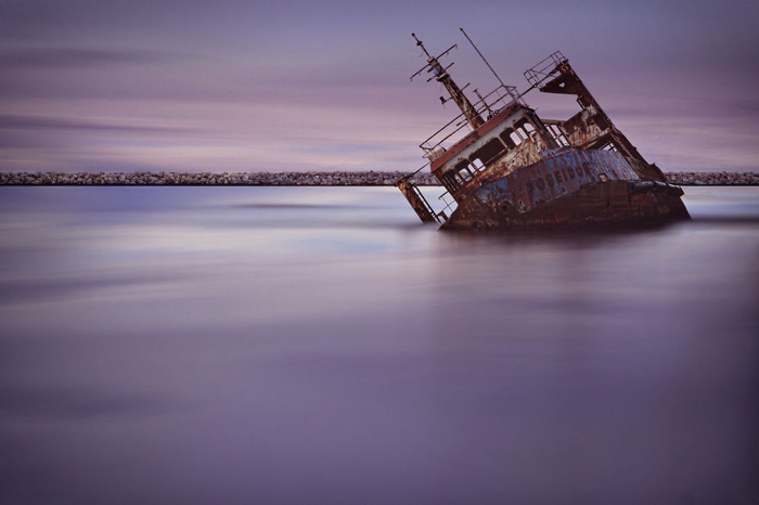 Затонувший Посейдон.