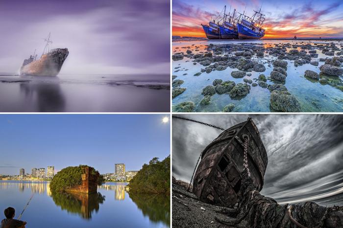 Затонувшие корабли со всего мира.