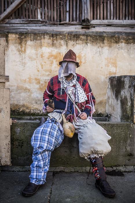 Бушары - главные действующие лица празднования Бушояраша. Фото: Zsolt Repasy.