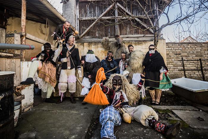 Бушояраш проводится, как правило,  начале февраля. Фото: Zsolt Repasy.