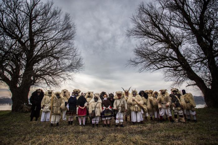 Празднование прощания с зимой в Венгрии. Фото: Zsolt Repasy.