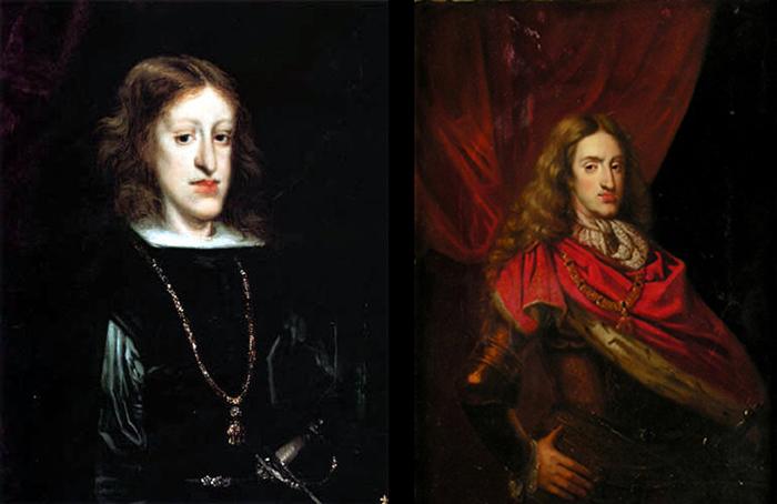 Портреты испанского монарха.