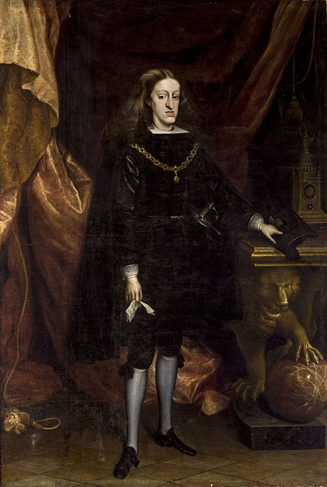 Король Карл II, портрет Хуана Карреньо не Миранда, 1685г.