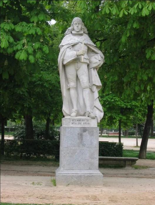 Памятник Карлу II.
