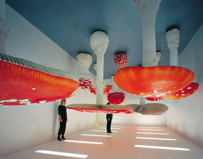 Upside Down Mushroom Room - инсталляция Карстена Холлера.