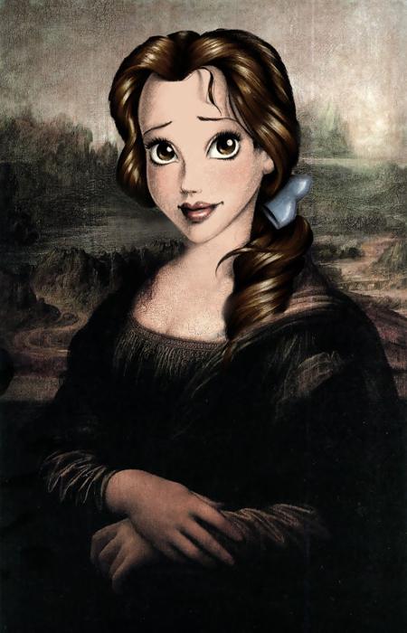 Леонардо Да Винчи *Мона Лиза*.