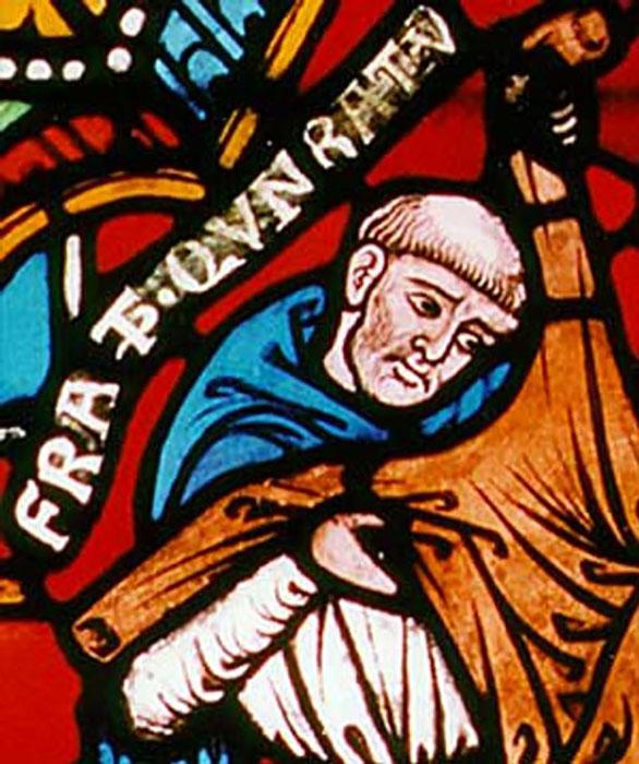 Конрад Марбургский— глава инквизиции.