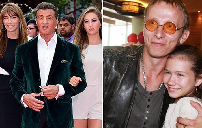 Знаменитые актеры, ставшие отцами несколько раз.