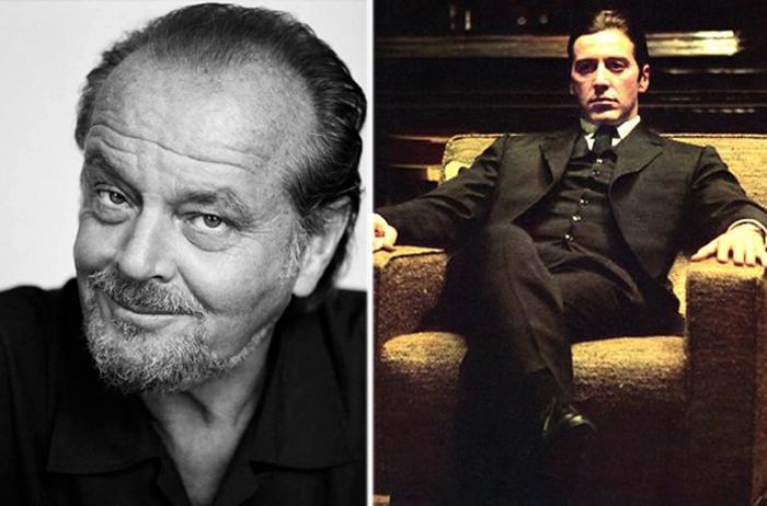 Джек Николсон и Аль Пачино.