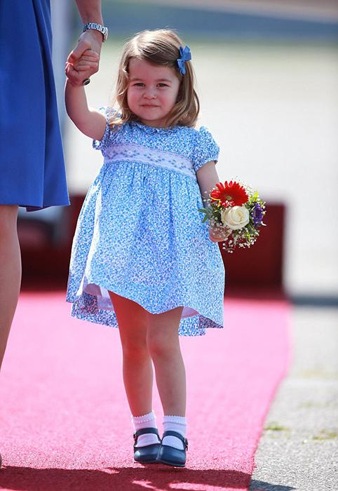 Последний раз Шарлотту видели на публике во время официальных визитов в Польшу и Германию в июле 2017.