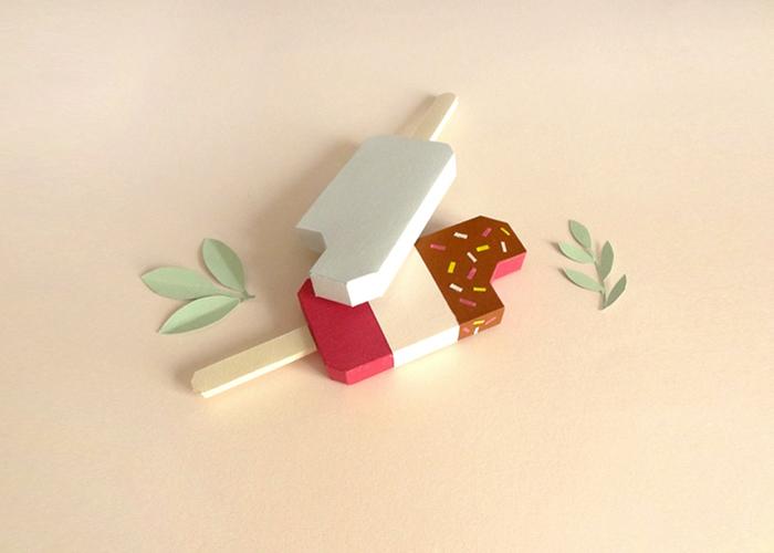 Paper Food - новый проект Шарлотты Смит.