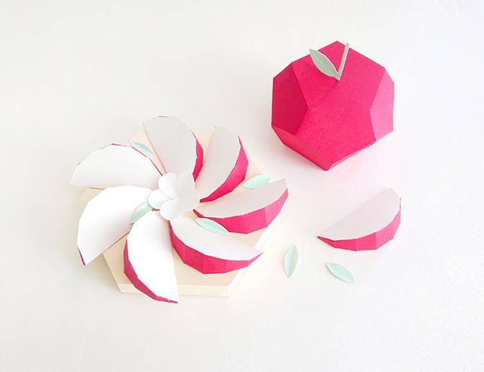 Бумажные скульптуры французского дизайнера Шарлотты Смит.