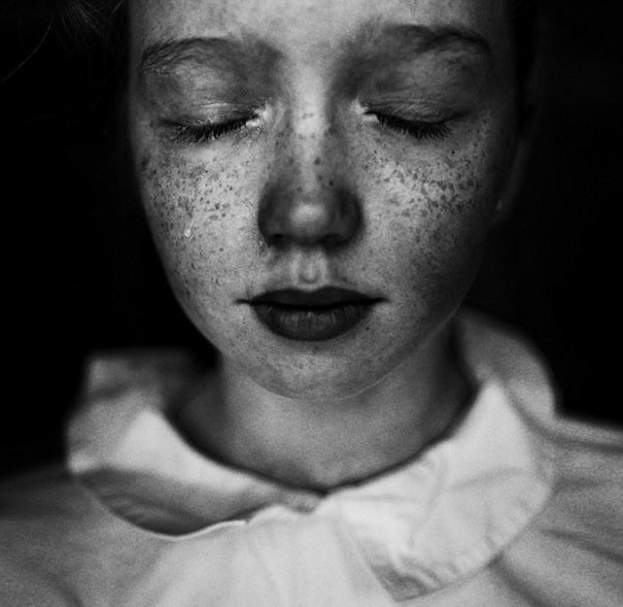 Слезы. 4-е место во втором конкурсе в категории Портрет. Фото: Ульяна Харинова, Россия.