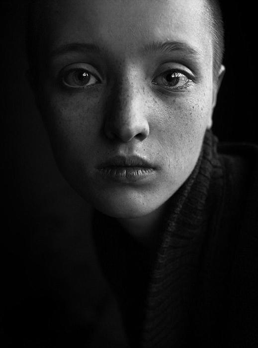 Лена. Второе место в категории Портрет первого конкурса 2017. Фото: Артем Микрюков, Россия.