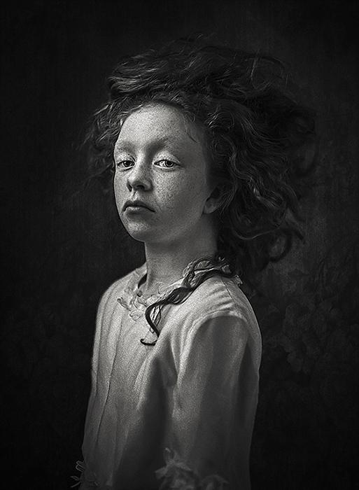 Флёр. Третье место в категории Портрет во втором конкурсе 2017. Фото: Ewa Cwikla, Нидерланды.